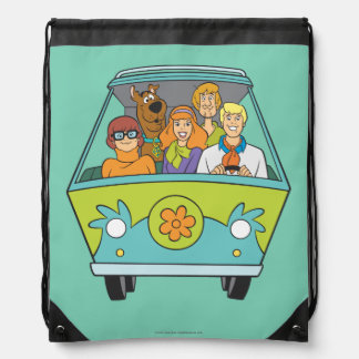 Scooby Doo Pose 71 Drawstring Bag
