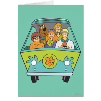 Scooby Doo Pose 71 Greeting Card