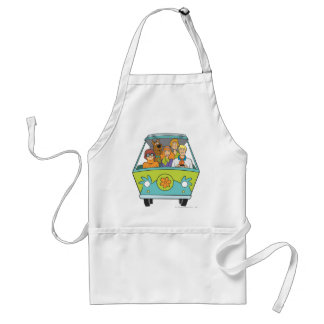 Scooby Doo Pose 71 Standard Apron