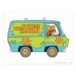 Scooby Doo Pose 73 Postcard