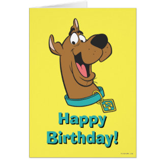 Scooby Doo Pose 85 Greeting Card