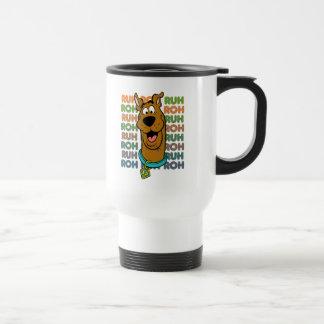 Scooby-Doo Ruh Roh Stainless Steel Travel Mug