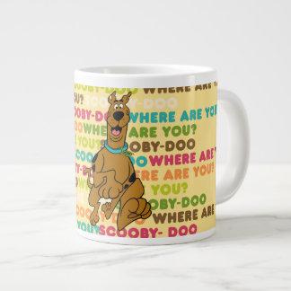 """Scooby-Doo Running """"Where Are You?"""" Jumbo Mug"""