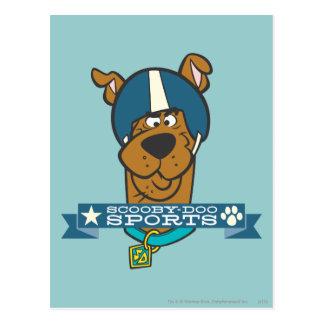 "Scooby Doo ""Scooby-Doo Sports"" Postcard"