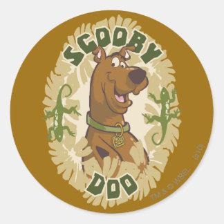 "Scooby Doo ""Scooby Doo"" Stickers"