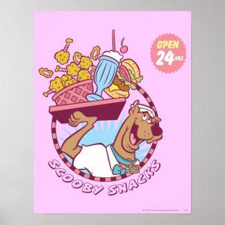 "Scooby Doo ""Scooby Snacks"" Poster"