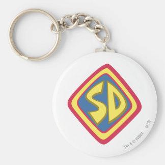 """Scooby Doo """"SD""""1 Key Ring"""