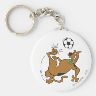 Scooby Doo Sports SDX Pose 6 Basic Round Button Key Ring