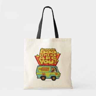 "Scooby-Doo | ""Where Are You?"" Retro Cartoon Van Tote Bag"