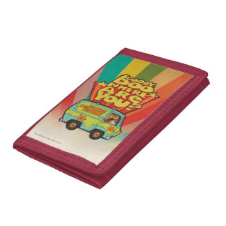 "Scooby-Doo | ""Where Are You?"" Retro Cartoon Van Trifold Wallet"