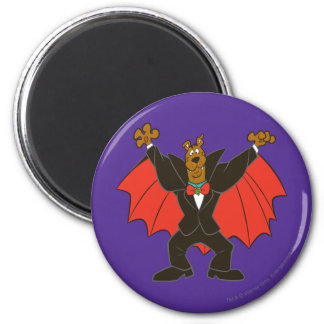 Scooby Dracula 6 Cm Round Magnet