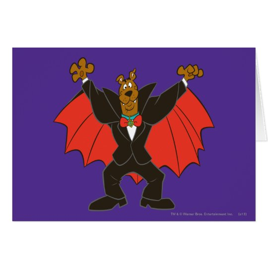 Scooby Dracula Card