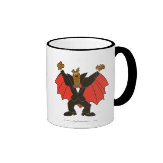 Scooby Dracula Ringer Coffee Mug