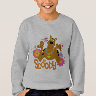 Scooby in Flowers Sweatshirt