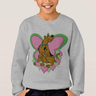 Scooby Pretty Butterfly Scooby Sweatshirt