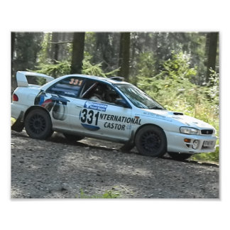 Scooby Rally car Photographic Print