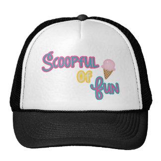 Scoop Full Of Fun Moose Mesh Hat