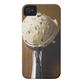 Scoop of ice cream in ice cream scoop (overhead iPhone 4 covers