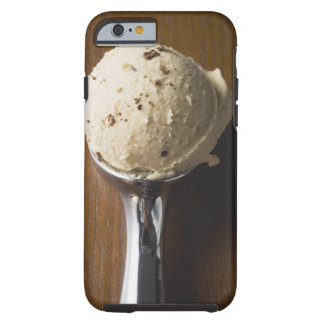Scoop of ice cream in ice cream scoop (overhead tough iPhone 6 case