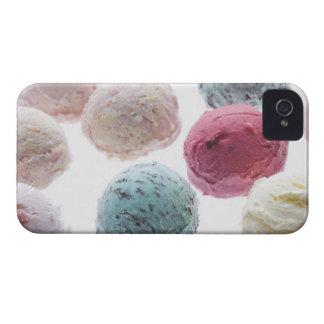 Scoops of ice creams iPhone 4 cover