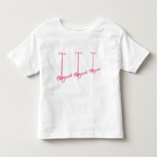 scoot scoot scoot little (pink) tee