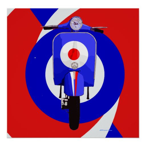 Scooter Art Posters