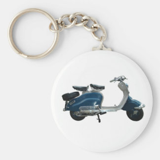 SCOOTER BASIC ROUND BUTTON KEY RING