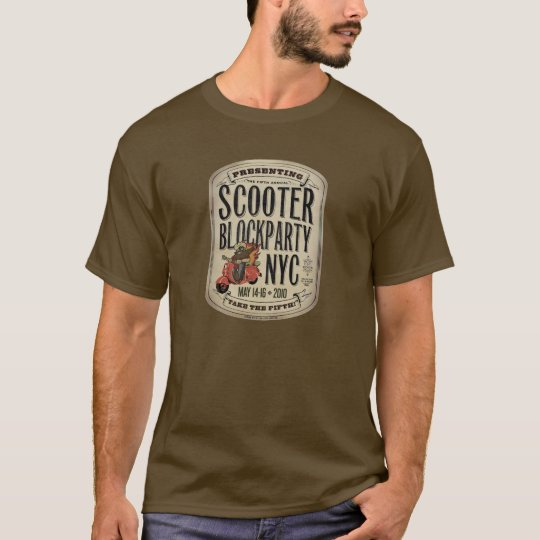 Scooter BlockParty NYC 2010 T-shirt