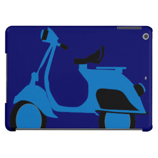 Scooter Blue iPad Air Cases