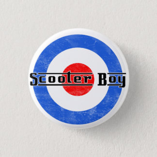 Scooter Boy Lambretta Pin