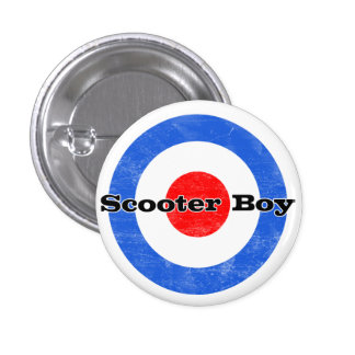 Scooter Boy  Pin
