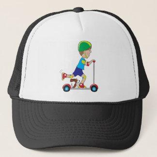 Scooter Boy Trucker Hat
