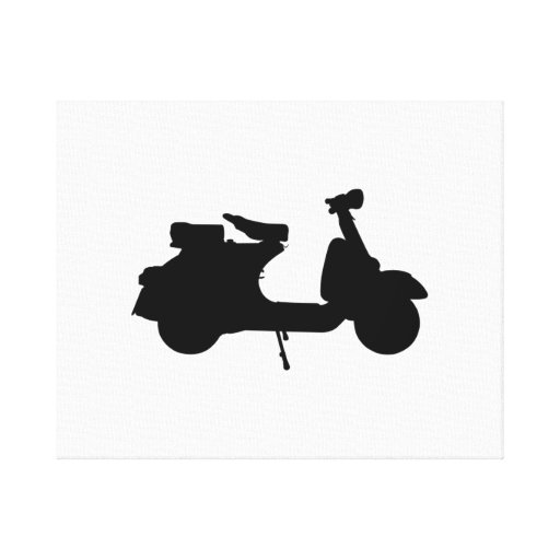 Scooter Canvas Prints