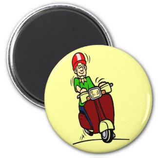 Scooter Dude Fridge Magnet