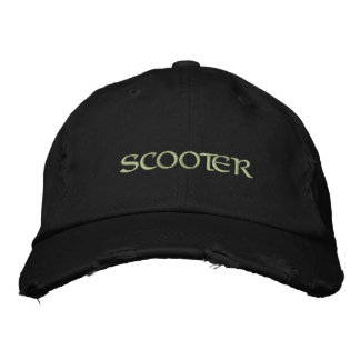 Scooter Embroidered Hat