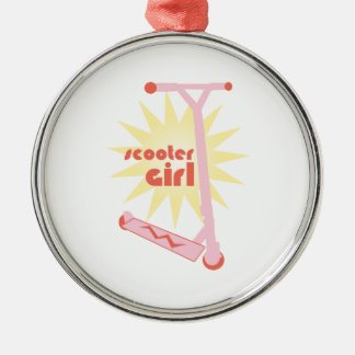 Scooter Girl Christmas Ornament