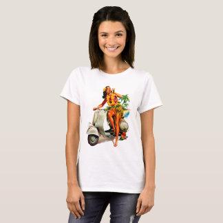 Scooter Girl Hawaii T-Shirt