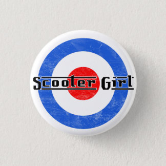 Scooter Girl Lambretta Pin