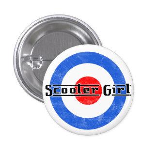 Scooter Girl Lambretta Pin