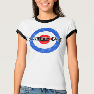 Scooter Girl Lambretta T-Shirt