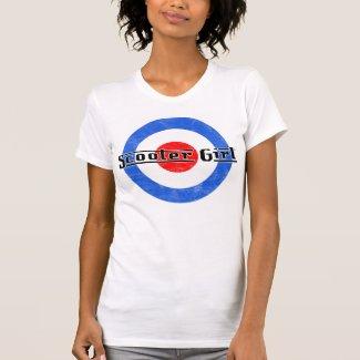 Scooter Girl Lambretta T-shirt for Women