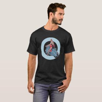 Scooter Girl Mod Target black T-Shirt