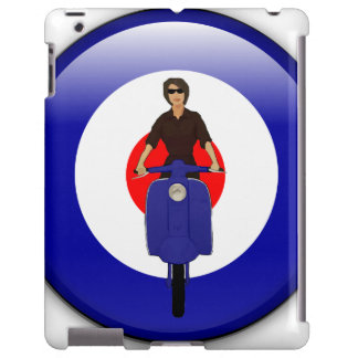 Scooter girl on 3d mod target iPad case