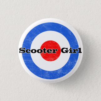 Scooter Girl  Pin