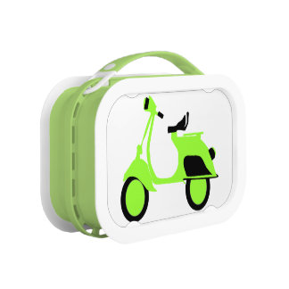 Scooter Green Lunchbox