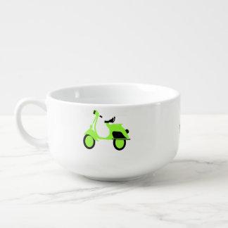 Scooter Green Soup Mug