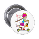 Scooter Kid Buttons