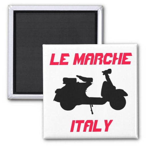 Scooter, Le Marche, Italy Fridge Magnet