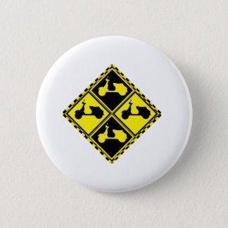 Scooter Mania! 6 Cm Round Badge