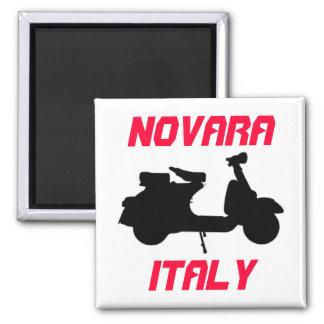 Scooter, Novara, Italy Square Magnet